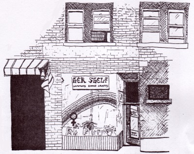 Hershelf Bookstore from the Leaping Lesbian 1979.jpg