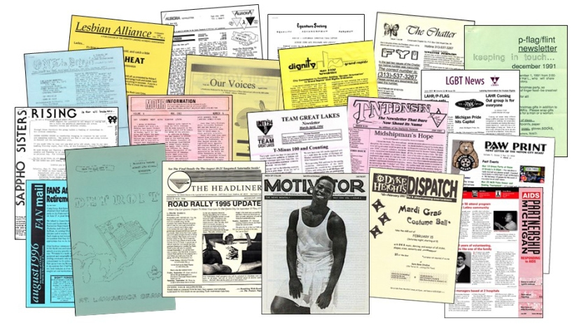 Newsletters collage