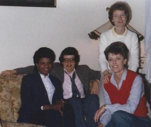 Annie & Barb & Mary Ellen & Phyllis 1985