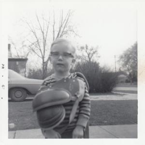 Me in shoulder pads 1967